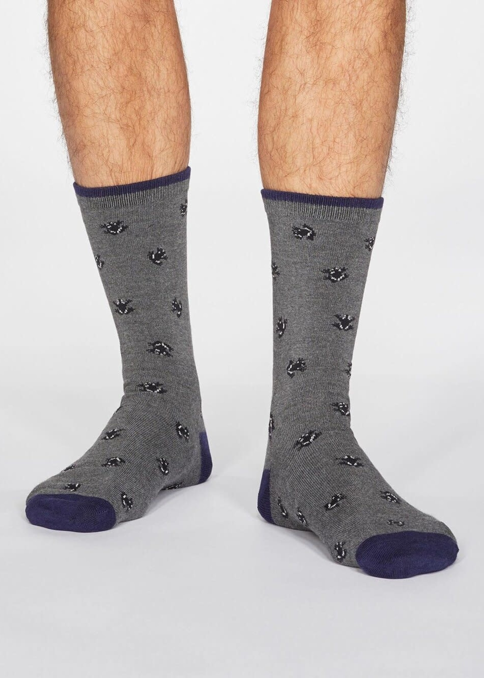 Thought Wesley Frog Socks