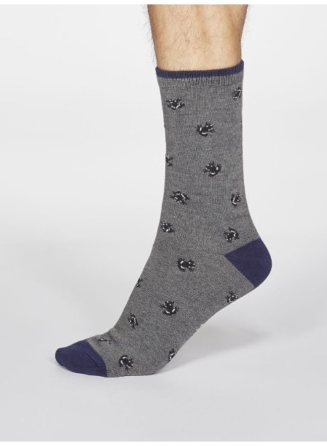 Wesley Frog Socks