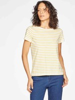 Thought Fairtrade GOTs Organic Cotton Striped Jersey Top