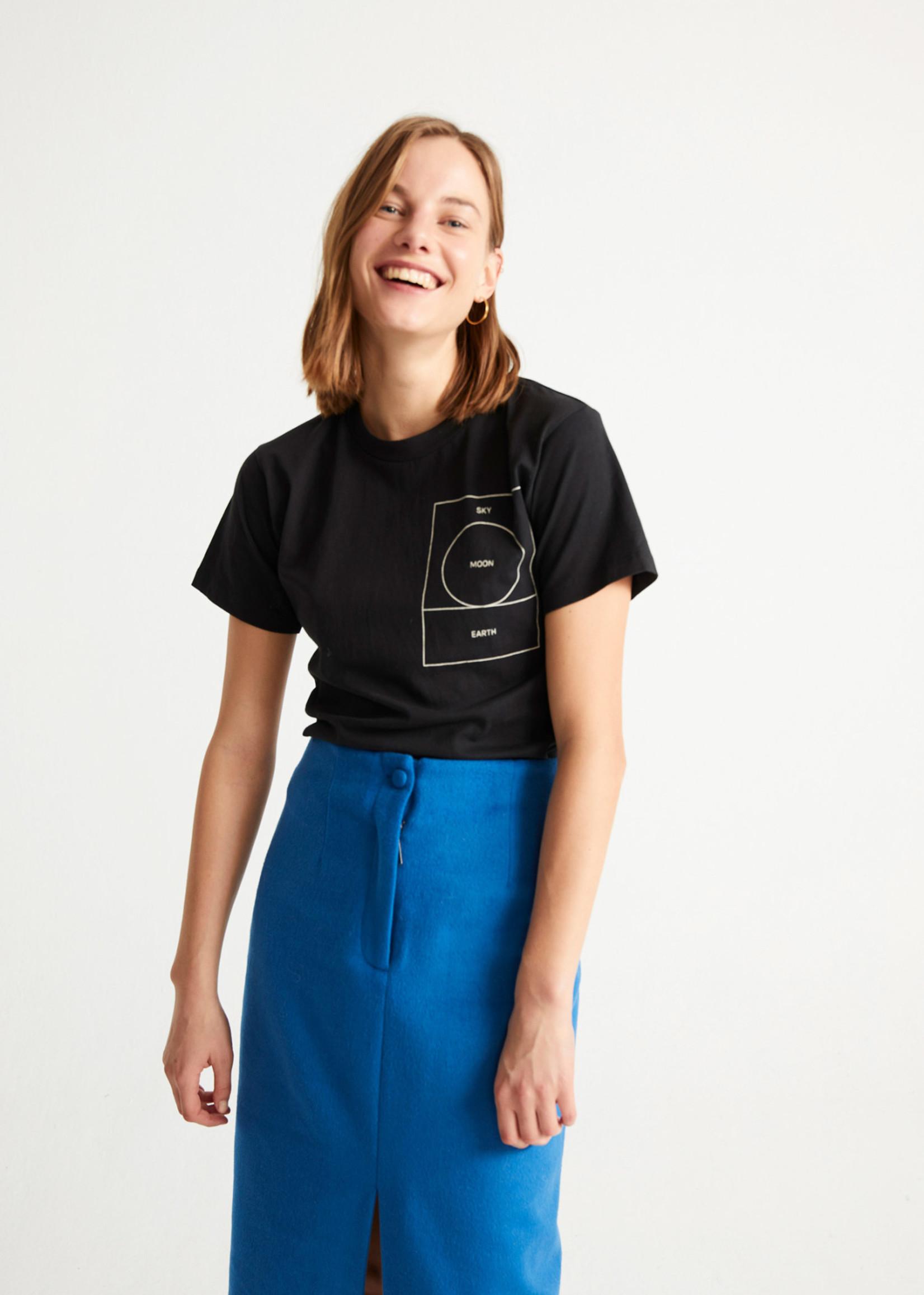 Thinking Mu Ryan Carl Moon T-shirt