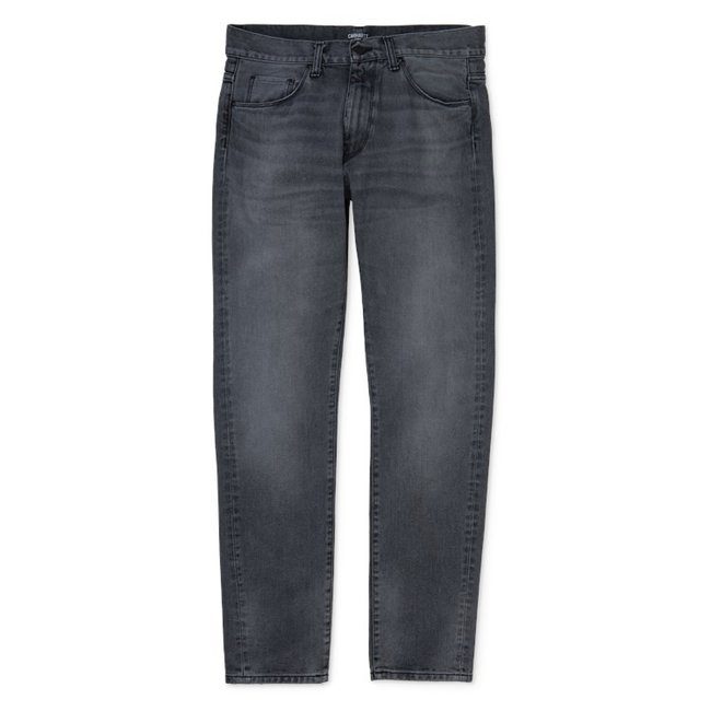 Carhartt WIP Vicious Pant Cotton Maitland Denim - Black Worn Bleached
