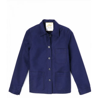 Le Mont st. Michel Genuine Work Jacket Blue
