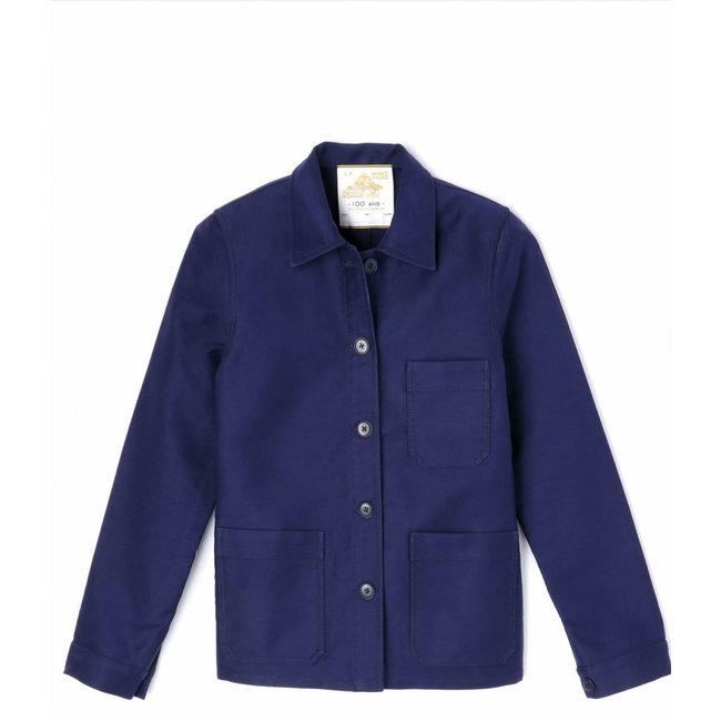 Le Mont st. Michel Genuine Work Jacket Blue