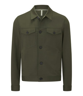 Harris Wharf London Men Overshirt Jacket