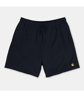 Carhartt WIP Chase Swim Trunks Black/Gold