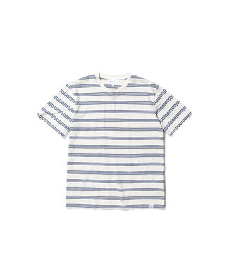 Johannes Cotton Linen Stripe - Twilight Blue