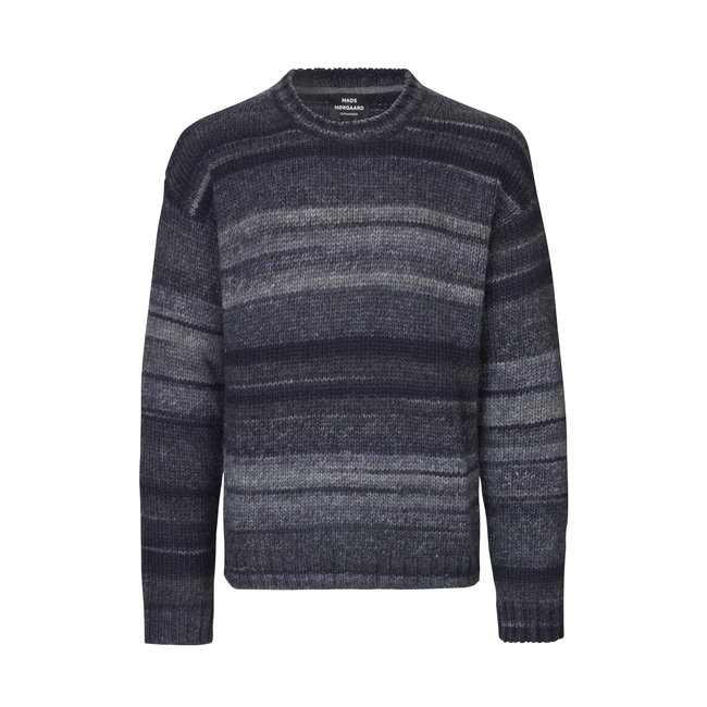 Mads Nørgaard Space Kai Charcoal Knitted Sweater
