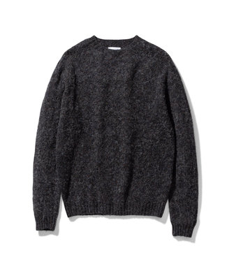 Norse Projects Birnir Brushed Lambswool - Charcoal Melange