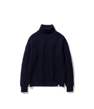 Norse Projects Arild Roll Neck - Dark Navy