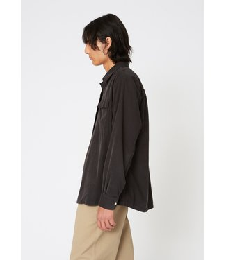Hope Base Over Shirt - Faded Black