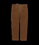 Carhartt WIP Klondike Pant Albany Cotton Corduroy - Hamilton Brown Rinsed