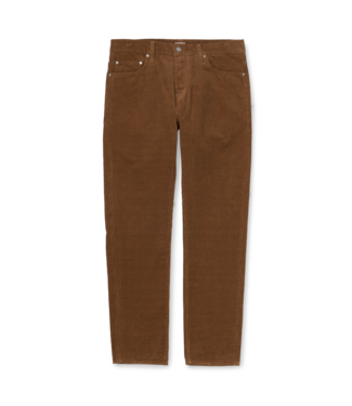 Carhartt WIP Klondike Pant Albany Cotton Corduroy - Hamilton Brown Rinsed