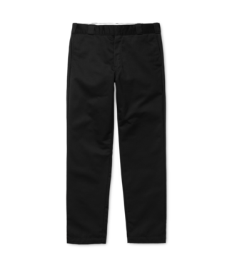 Carhartt WIP Master Pant Denison Twill - Black Rinsed
