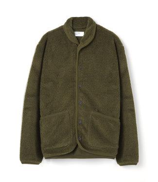 Universal Works Lancaster Jacket Mountain Fleece - Olive
