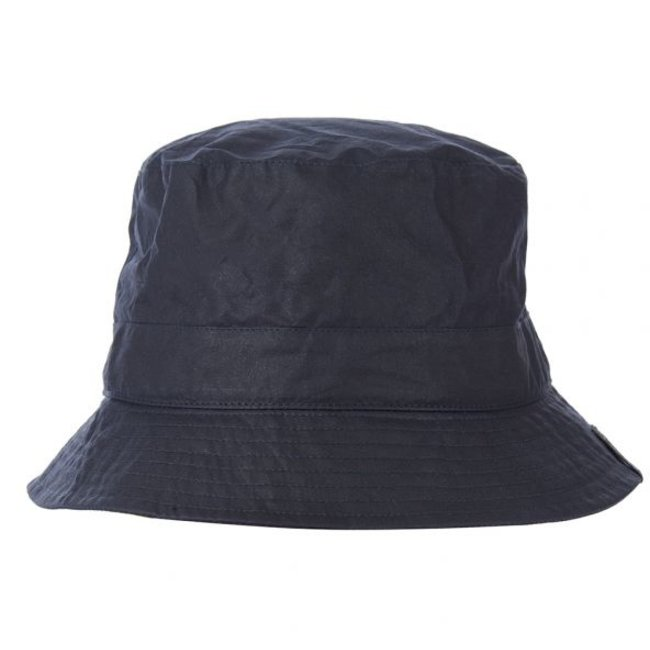 Barbour x Norse Project Lightweight Wax Sports Hat - Navy