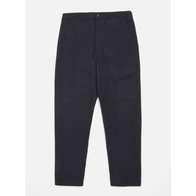 Universal Works Military Chino Wool Marl - Charcoal
