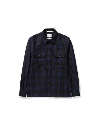 Norse Projects Kyle Wool - Dark Navy
