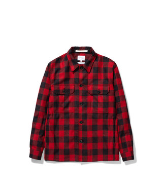 Norse Projects Kyle Wool - Carmine Red
