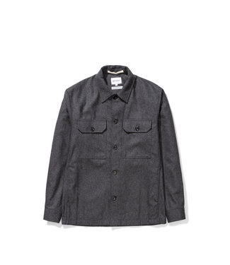 Norse Projects Kyle Wool - Charcoal Melange