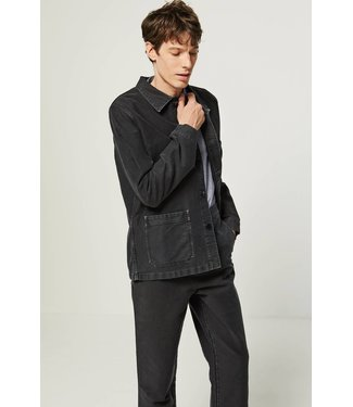 Le Mont st. Michel Genuine Workjacket Vintage Washed - Black