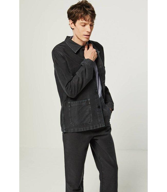 Le Mont st. Michel Genuine Workjacket Vintage Washed - Black