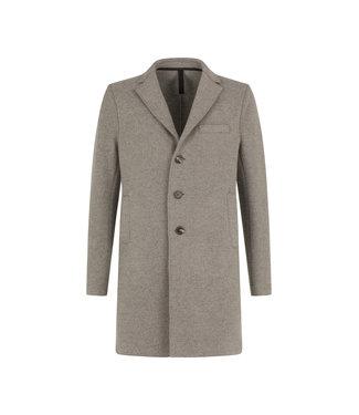 Harris Wharf London Men Boxy Coat Boiled - Casha Mouliné