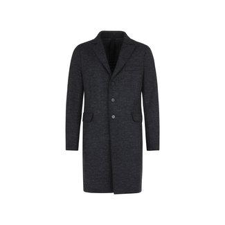 Harris Wharf London Men Boxy Coat Boiled - Anthracite