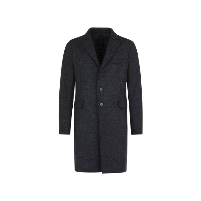Harris Wharf London Men Boxy Coat Boiled - Anthracite