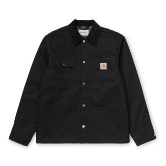 Carhartt WIP Michigan Coat Organic Cotton Dearborn Canvas - Black Rigid