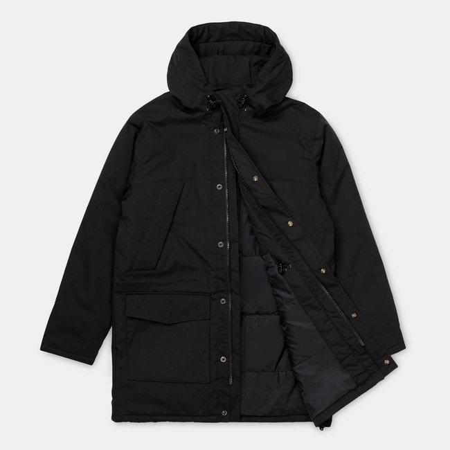 Carhartt WIP Trent Parka Polyester/Cotton Poplin - Black