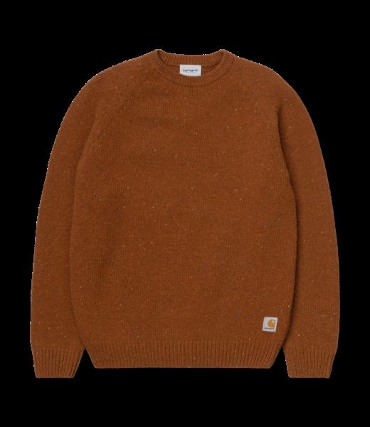 Anglistic Sweater Lambswool/Cotton/Acrylic - Brandy Heather