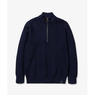 Barbour x Norse Projects Barbour Norse Half Zip - Navy