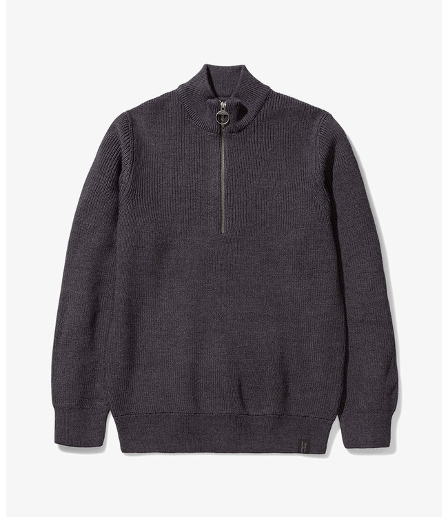 Barbour x Norse Projects Barbour Norse Half Zip - Grey Marl