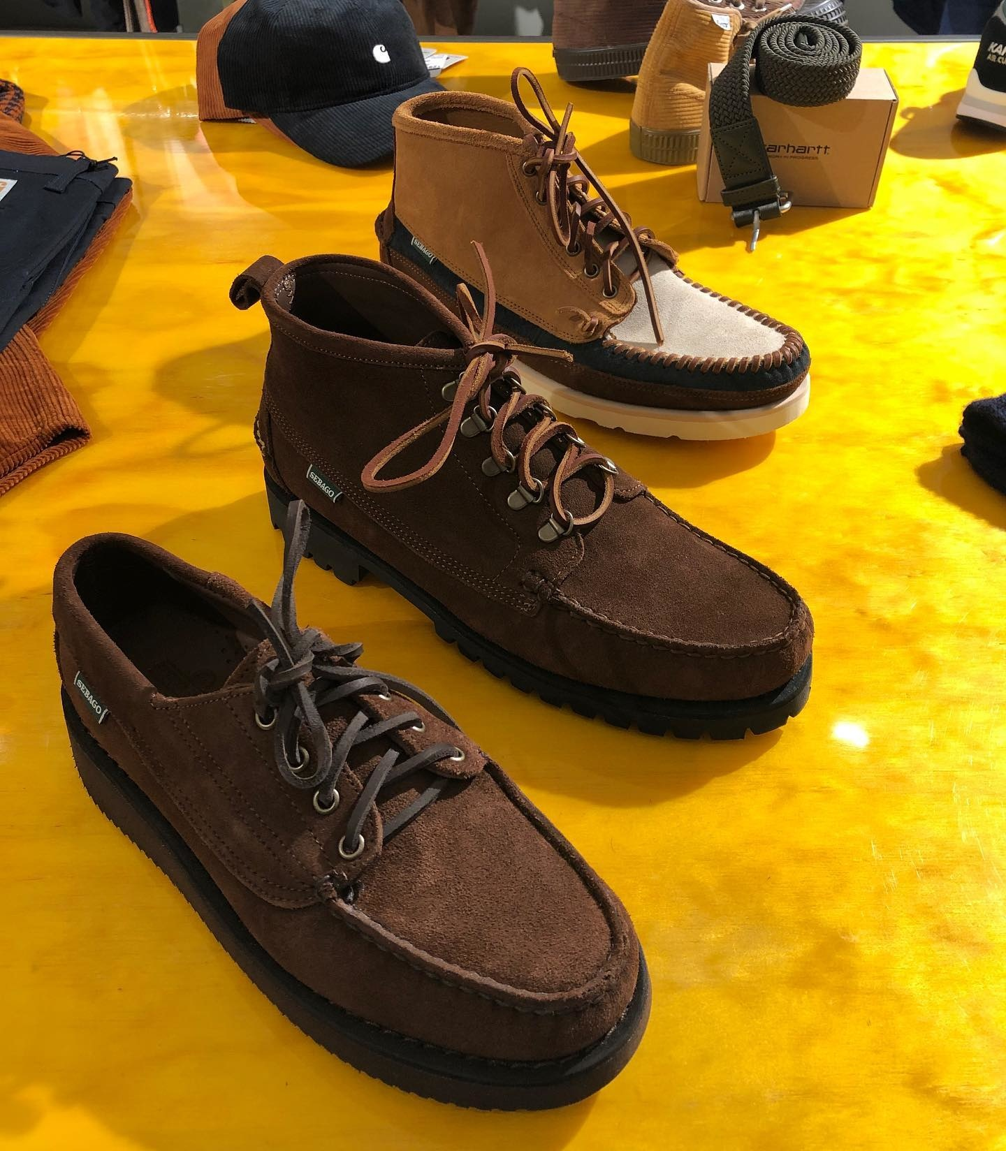 Proud to Introduce! Sebago