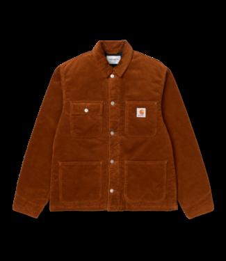 Carhartt WIP Michigan Coat Coventry Corduroy - Brandy Rinsed