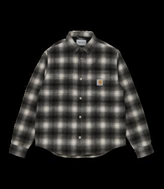 Carhartt WIP Lashely Shirt Jac - Check Black