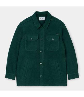 Carhartt WIP Owen Shirt Jac - Bottle Green
