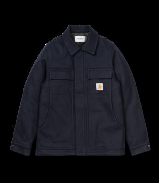 Carhartt WIP Wool Arctic Coat - Dark Navy