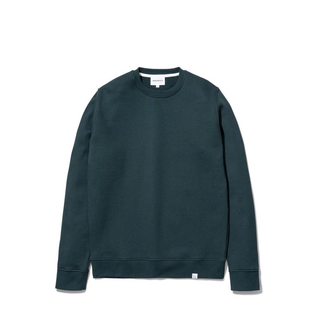 Norse Projects Vagn Classic Crew - Deep Sea Green