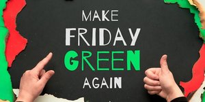 """Green Friday Weekend: Shop in the """"Walther"""" forest and get a tree & certificate as a gift"""