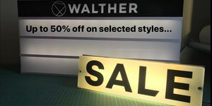 Sale Starts On-line - up to 50% off