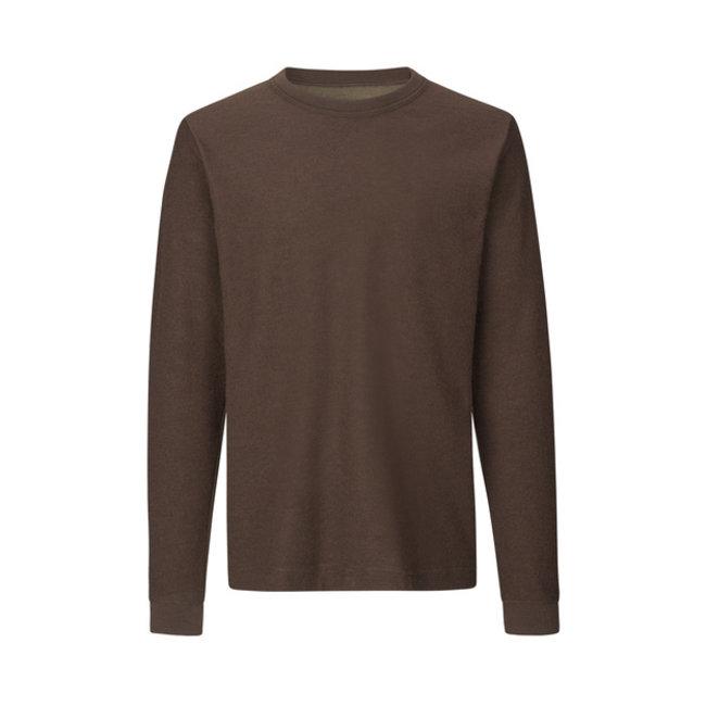 Mads Nørgaard Wool Jersey Twin Longsleeve  - Demitasse