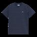 Carhartt WIP S/S Denton T-Shirt - Denton Stripe, Space / Malaga