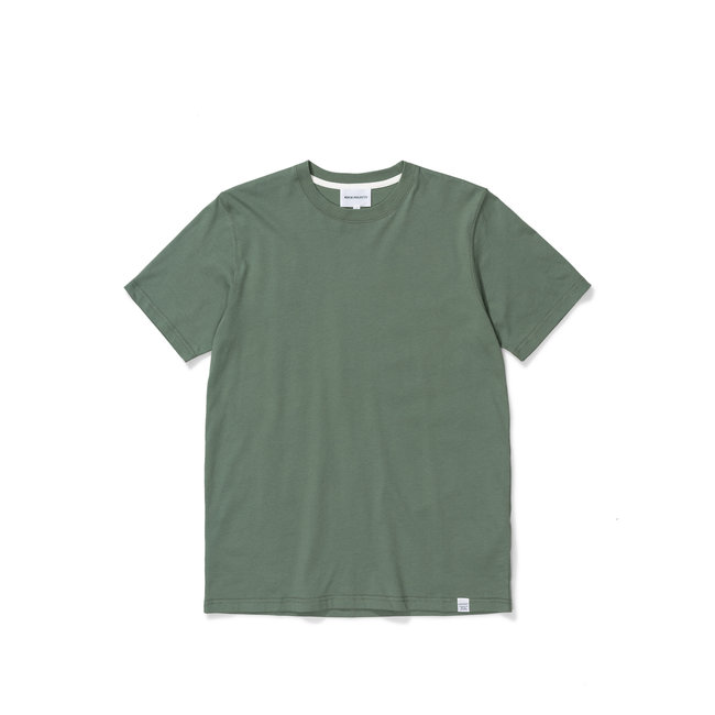 Norse Projects Niels Standard SS - Moss Green