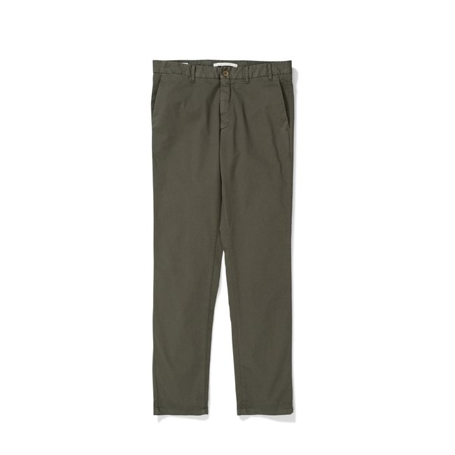 Norse Projects Aros Slim Light Stretch - Ivy Green