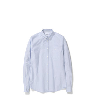 Norse Projects Anton Oxford - Blue Stripe