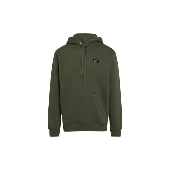 Mads Nørgaard New Standard Hoodie Badge - Olive Night
