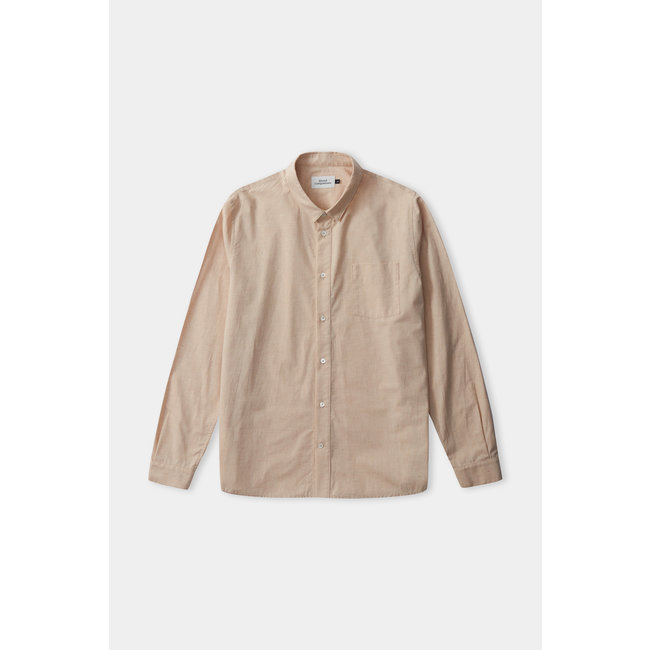 About Companions Simon Shirt - Eco Color Grown Camel