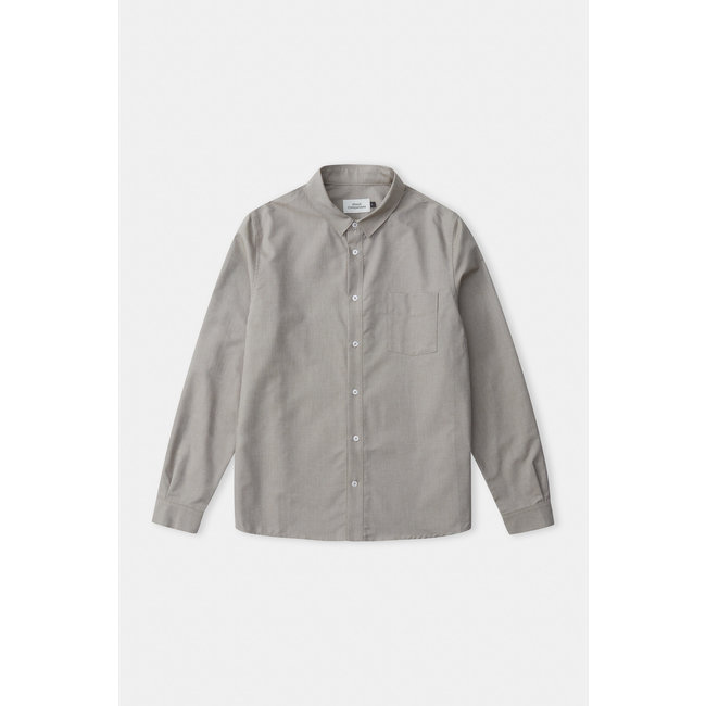 About Companions Simon Shirt - Eco Oxford Dusty Olive