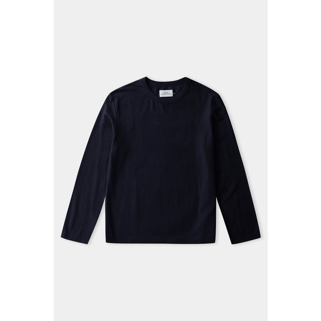 About Companions Lars longsleeve - Eco Loopback Navy